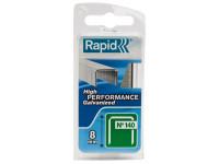 Rapid RPD1408NB 140/8NB 8mm Galvanised Staples Narrow Box 970 | Toolden