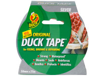 Shurtape SHU211111 Duck Tape Original 50mm x 25m Silver | Toolden