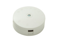 SMJ SMJW204TC White 20A 4-Terminal Junction Box Clam Pack | Toolden