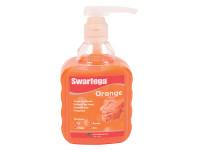 Swarfega SWASOR450PP Orange Hand Cleaner Pump Top Bottle 450ml | Toolden