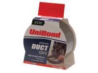 Unibond UNI1418606 Duct Tape Silver 50mm x 25m | Toolden