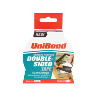 Unibond UNI1668253 Double Sided Tape 38mm x 5m  | Toolden
