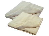 Faithfull FAIDSCT129ST Cotton Twill Multi Purpose Dust Sheet (Twin Pack) | Toolden