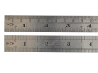 Fisher FIS106 F106ME Steel Rule 150mm / 6in   Toolden