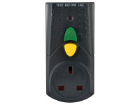 Faithfull Power Plus FPPRCD RCD Adaptor (Circuit Breaker) | Toolden