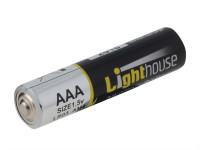 Lighthouse L/HBATAAA AAA LR03 Alkaline Batteries 1120 mAh (Pack 4) | Toolden