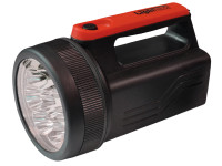 Lighthouse L/HT996LED High-Performance 8 LED Spotlight with 6V Battery | Toolden