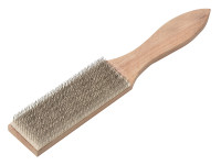Lessmann LES037201 Steel File Cleaning Brush 250mm | Toolden