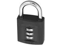 ABUS Mechanical ABU15840C 158/40 40mm Combination Padlock (3-Digit) Die Cast Body Carded | Toolden