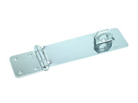 Faithfull FAIPHS115 Zinc Plated Hasp & Staple 115mm | Toolden