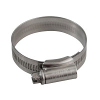 Jubilee® JUB1MSS 1M Stainless Steel Hose Clip 32 - 45mm (1.1/4 - 1.3/4in) | Toolden