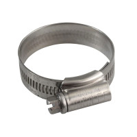 Jubilee® JUB1XSS 1X Stainless Steel Hose Clip 30 - 40mm (1.1/8 - 1.5/8in)  | Toolden