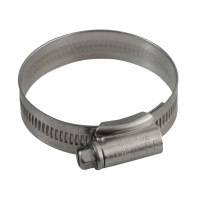 Jubilee® JUB2ASS 2A Stainless Steel Hose Clip 35 - 50mm (1.3/8 - 2in) | Toolden