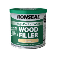 Ronseal RSLHPWFW550G High-Performance Wood Filler White 550g | Toolden