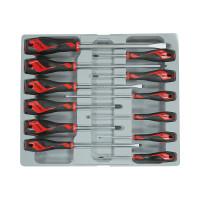Teng Tools MD912N 12 Piece Screwdriver Set (Flat,PH,PZ)  | Toolden