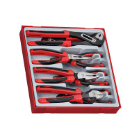 Teng Tools TTD441-T 8 Piece TPR Grip Plier Set | Toolden