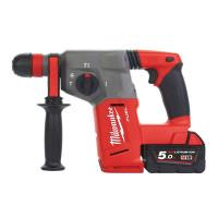Milwaukee M18CHX-502C 18v 2 x 5.0Ah Li-Ion SDS Plus Hammer Drill | Toolden