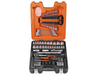 Bahco S87+7 Socket & Spanner Set of 94 Metric & AF 1/4 & 1/2in Drive | Toolden
