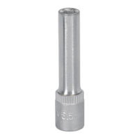 "SP14055D Sealey WallDrive® Socket 5.5mm Deep 1//4/""Sq Drive Fully Polished"