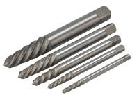 Teng Tools SE05 5 Piece Screw Extractor Set