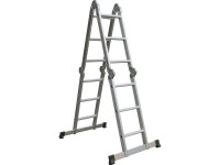 Multi-Position Folding Ladder with Platform | Toolden