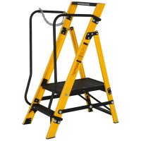 Youngman 30090218 Megastep 2 Tread Step Ladder | Toolden