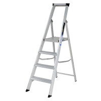 Youngman 30431218 Platform Stepladder 4 Tread Builders Step Ladder | Toolden