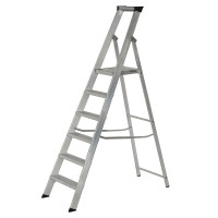 Youngman 30631218 Platform Stepladder 6 Tread Builders Step Ladder | Toolden