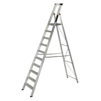 Youngman 31031218 Platform Stepladder 10 Tread Builders Step Ladder | Toolden