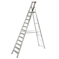 Youngman 31231218 Platform Stepladder 12 Tread Builders Step Ladder  | Toolden