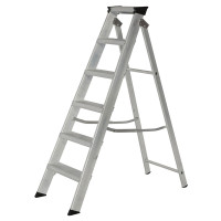 Youngman 30699618 Stepladder 6 Tread Builders Step Ladder | Toolden