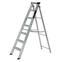 Youngman 30799618 Stepladder 7 Tread Builders Step Ladder  | Toolden