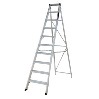 Youngman 31099618 Stepladder 10 Tread Builders Step Ladder | Toolden