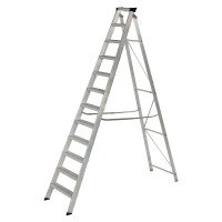 Youngman 31299618 Stepladder 12 Tread Builders Step Ladder | Toolden