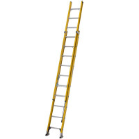 Youngman 52781000 S200 Fibreglass Trade 2 Section Extension Ladder 3.03m | Toolden