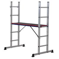 Youngman 5101518 Combination Ladder - Pro-Deck 5 Way    Toolden