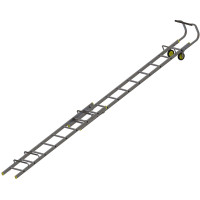Youngman 57663000 Double Section Roof Ladder 3.21m | Toolden