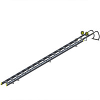 Youngman 57664600 Double Section Roof Ladder 4.89m | Toolden