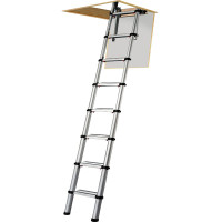 Youngman 30100000 Telescopic Loft Ladder 2.6m | Toolden