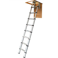 Youngman 30100100 Telescopic Loft Ladder 2.9m  | Toolden