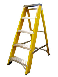 Lyte GFBB4 4 Step Fibreglass Ladder from Toolden