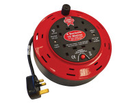 Faithfull Power Plus Cable Reel 240 Volt 10 Metre 10 Amp 4 Socket| Toolden