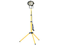 Faithfull Power Plus Single Tripod Site Light 500 Watt 240 Volt