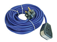 Faithfull Power Plus Trailing Lead 240 Volt 13 Amp 1.5mm Cable 14 Metre
