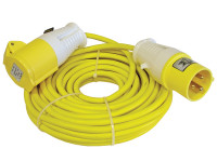 Faithfull Power Plus Trailing Lead 14 Metre 1750W 16 Amp 1.5mm Cable 110 Volt | Toolden