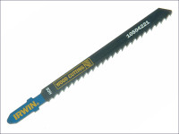 IRWIN Jigsaw Blades Wood Cutting Pack of 5 T101D