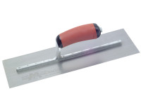 Marshalltown MPB14SSD Pre-Worn Plasterers Trowel DuraSoft Handle 14in x 5in from Toolden.