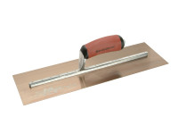Marshalltown MXS165GD Gold Plasterers Trowel 16in x 5in from Toolden.