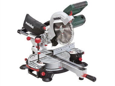 METABO 240V 1500W 216MM SLIDING COMPOUND MITRE CUTTING SAW KGS-216MN NEW
