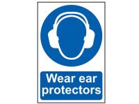 Scan Wear Ear Protectors - PVC 200 x 300mm